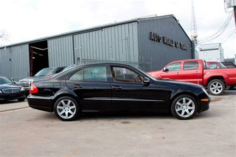 Used Mercedes For Sale In Houston Tx by 2007 Mercedes E Class For Sale In Houston Tx