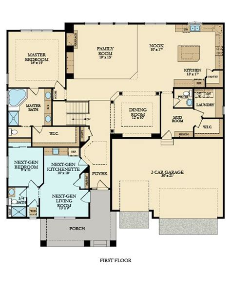 floor plan of house multigenerational floor plans house plans