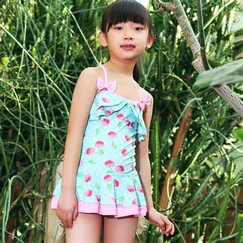 young girls swimwear age 13 2014 new female students 3 4 5 6 7 8 9 10 11 12 13 14 year