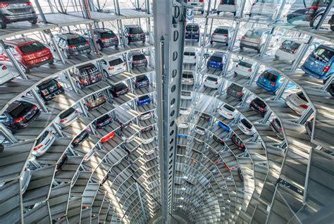 Vw Autoturm autoturm autostadt wolfsburg foto bild architektur