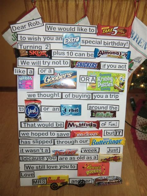 Bar Birthday Card Sayings 28 Best Images About Chocolate Sayings On Pinterest
