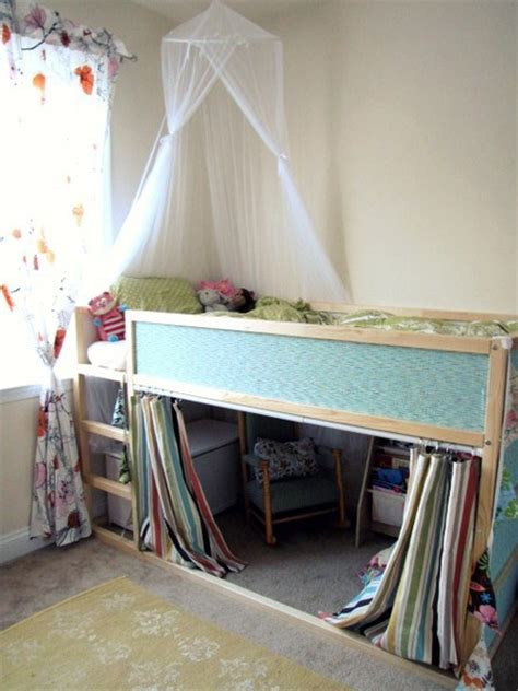 diy ikea loft bed diy w ikea kura loft bed kid s room ideas pinterest