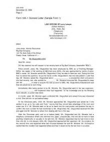 Letter To Attorney Template Legal Letter Template Crna Cover Letter