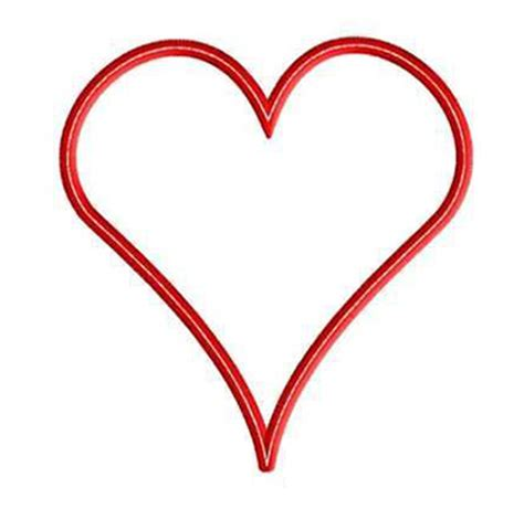 heart pattern for applique 9 lovable free embroidery patterns