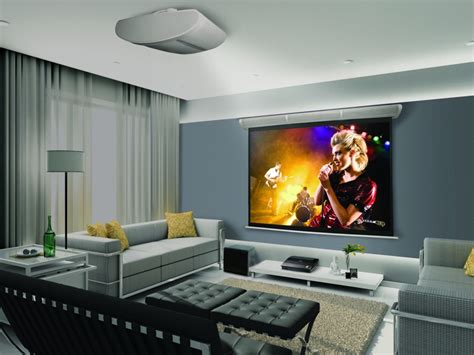 projector in living room epson ensemble hd kit gets upgraded projectors gizmodo