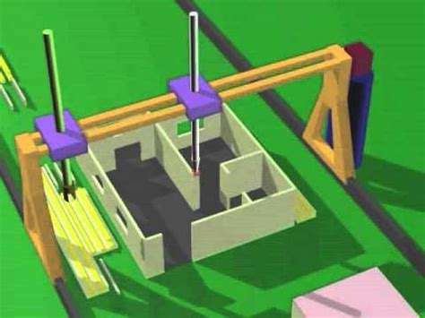 The Contour Crafting Appliance That Makes Your Home by Animation Of Contour Crafting In Whole House Construction