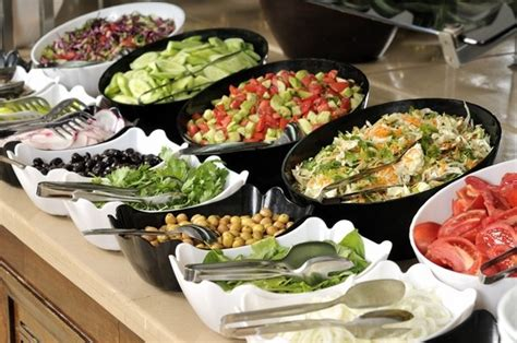 buffet style food food and drinks pinterest