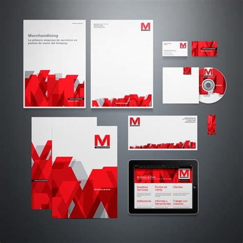 corporate layout inspiration corporate identity system for pop merchandising