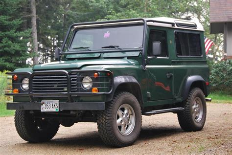 2000 land rover green 2000 land rover defender 90 pictures information and