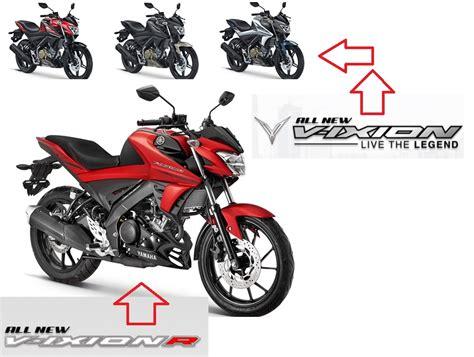 Sparepart Yamaha R New harga dan spesifikasi all new vixion tahun 2017 dan all