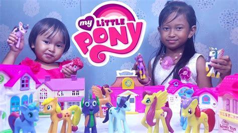 mainan my pony pink mainan rumah rumahan my pony friendship is magic