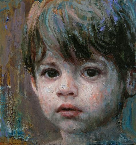 Boy Painting By Alyssa Monks Image
