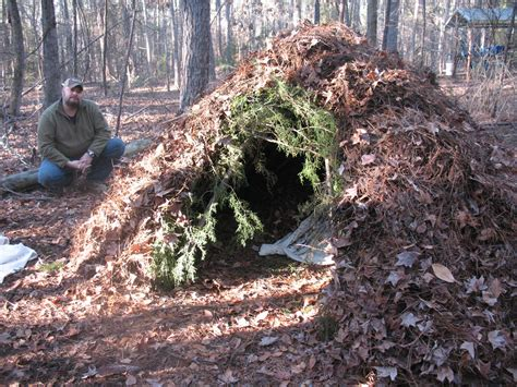 how to a shelter make a survival brush shelter sensible survival