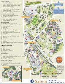 Salem State University Map by Campus Map Salem State University