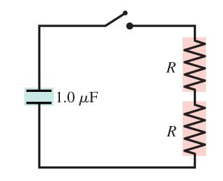 definition of time constant of capacitor consider the circuit shown in figure 1 suppose chegg