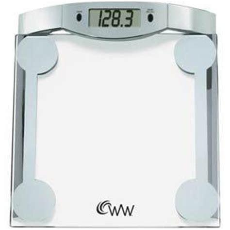 weight watchers bathroom scale battery weight watchers ww42d digital glass bathroom scale new ebay