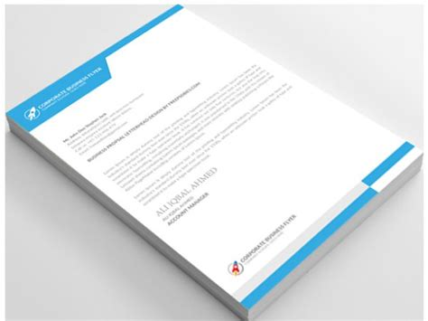 design header paper 100 letterheads sharad advertising private limited