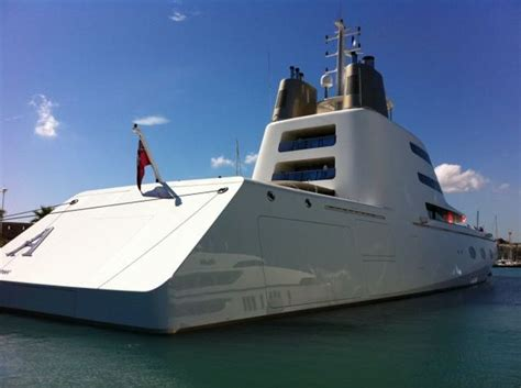 russian billionaire owns  worlds  impressive luxury yacht