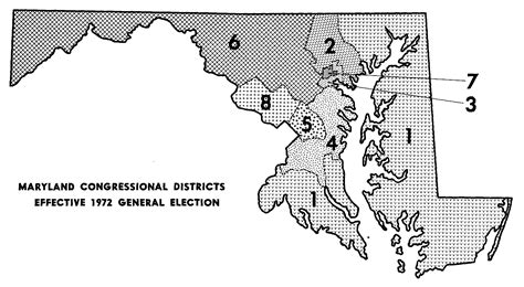 maryland map congressional districts redistricting historical districts
