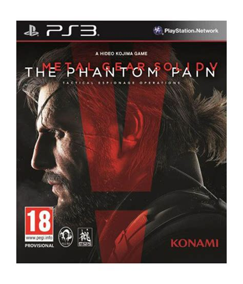 Ps3 Metal Gear Solid V Pantom Region 2 buy metal gear solid v the phantom ps3 at best price in india snapdeal