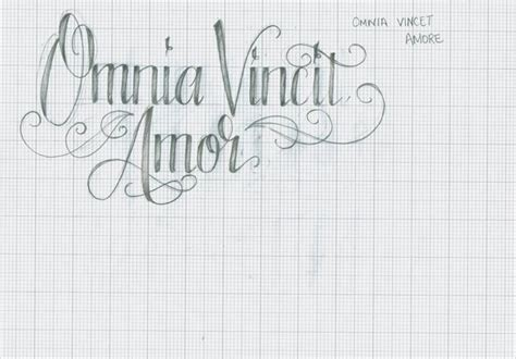 amor vincit omnia tattoo omnia vincit by 12kathylees12 on deviantart