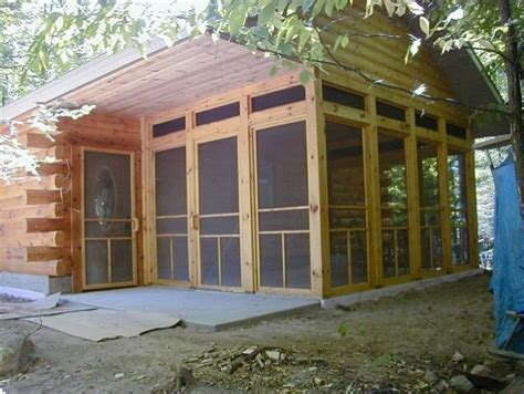 cabin floor plans with screened porch log cabin screened porches photo gallery of log cabins