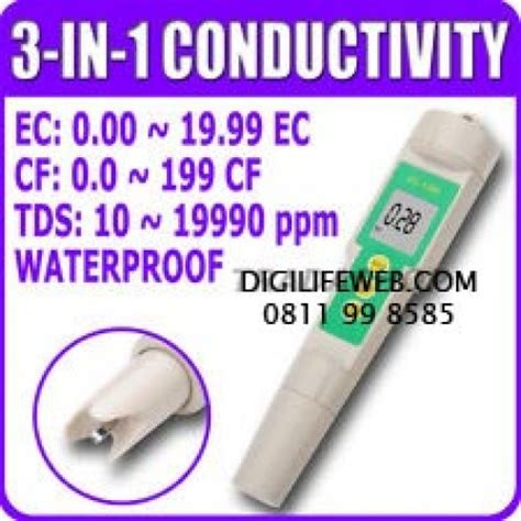 Sale Ec Cf Tds Hydroponic Tester 3 In 1 ec conductivity cf tds 3 in 1 meter for hydroponic