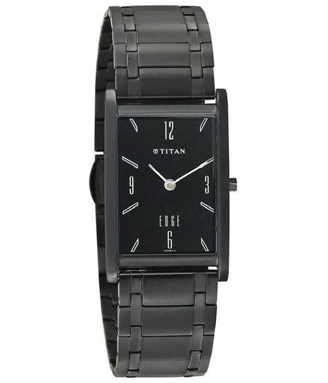 titan black analog titan edge party wedding watch 1043nm01