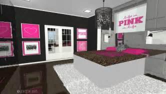 Victorias Secret Bedroom Victoria S Secret Pink Inspired Bedroom Ljdecor