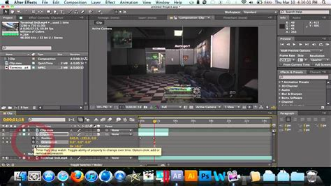 tutorial edit video after effect after effects tutorial how to edit cod clips part 3 by