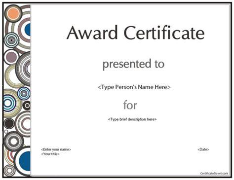 sle certificate templates business certificates modern award certificate