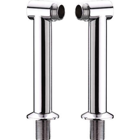 shower adaptor for bath taps 170mm height chrome bathroom bath mixer tap legs adapter pillars q22 ebay