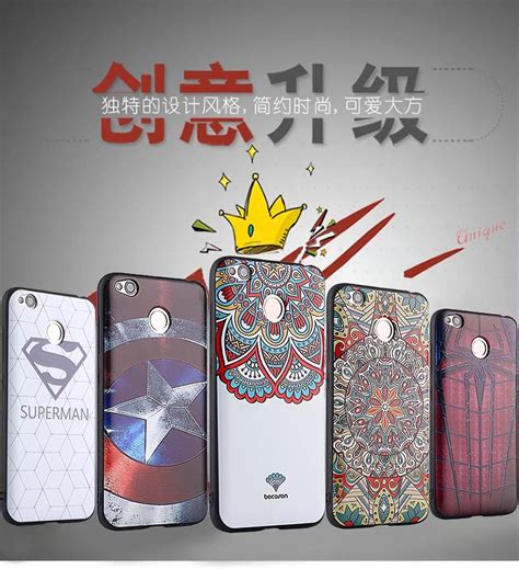 Softcase 3d Glow In The Xiaomi Redmi 4x T2909 for xiaomi redmi 4x 3d stereo relief painting
