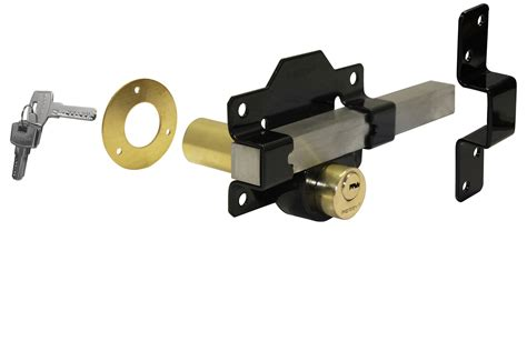 perry garden gate 70mm throw lock locking