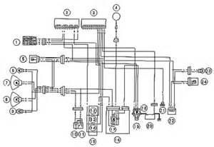 kawasaki zx10r lighting system circuit and headlight schematic