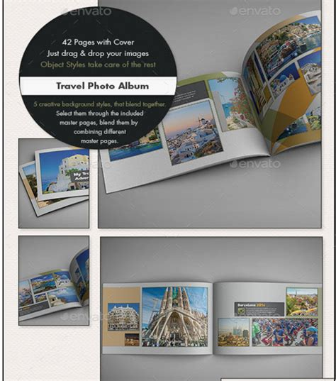 26 Photo Albums Download Downloadcloud Travel Album Template