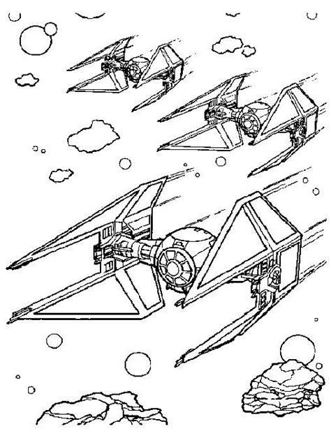 Coloriage vaisseau star wars | idée déco salle de jeu