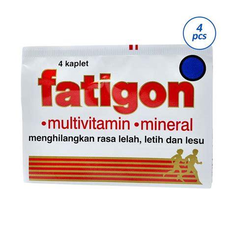 Fundamin E Isi 4 Tablet jual fatigon kaplet multivitamin 4 4 tablet harga kualitas terjamin