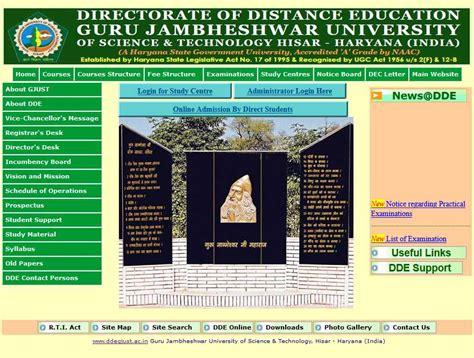 Gju Distance Mba Admission 2017 by Jamia Millia Islamia Distance Education Date Sheet