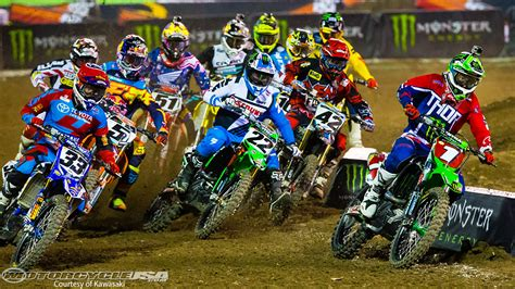 2015 Supercross TV Schedule: FOX Goes Live   Motorcycle USA
