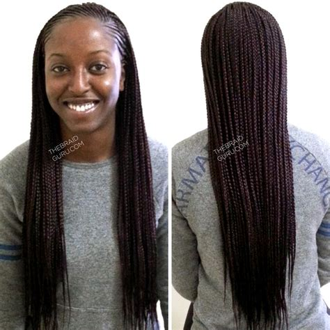 front braids hairstyles how to feed in cornrows with individuals extra long braids by