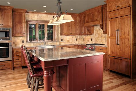 Cedar Lake Kitchen Menu by Fontana Renovation Highland Builders