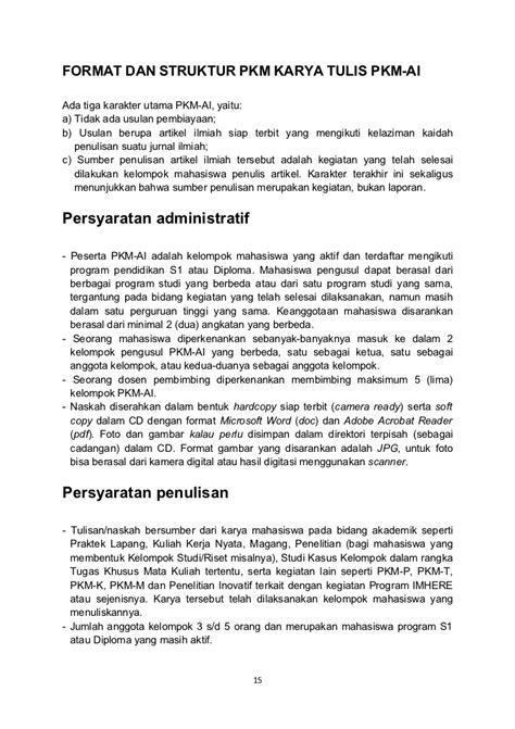 format proposal pkm pengabdian masyarakat kiat sukses menyusun proposal pkm
