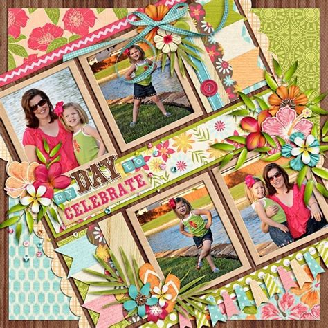 scrapbook layout ideas pinterest mother s day 2012 two peas in a bucket scrapbook and