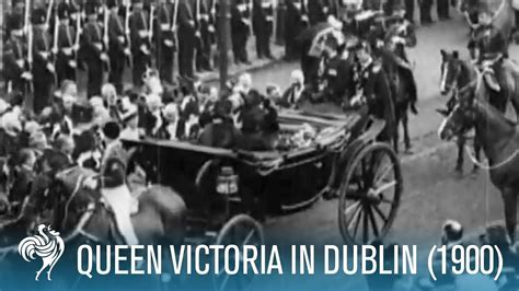 film footage of queen victoria queen victoria in dublin rare archive footage from 1900