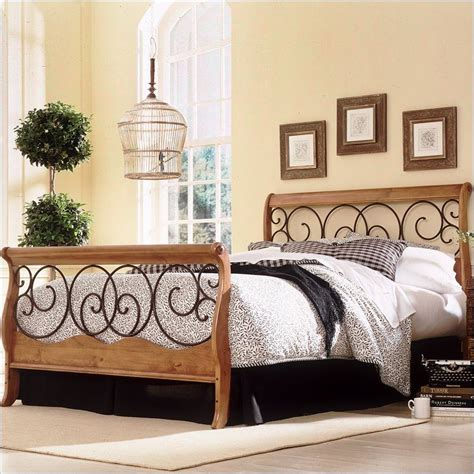 Wood Headboard And Footboard by Fashion Bed Dunhill Wood Footboard Honey Oak Finish Headboard
