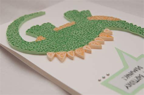 Handmade Dinosaur - lipiec 2013 paper paradise
