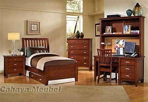 set kamar tidur anak minimalis jati kamar set anak