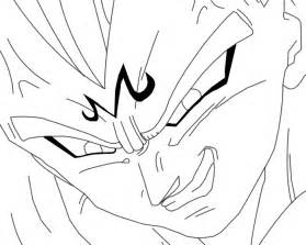 gallery gt majin vegeta coloring pages