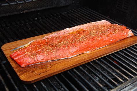 cedar planked salmon recipe dishmaps
